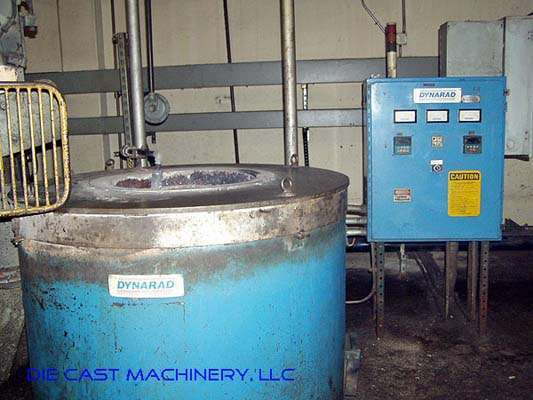 380 pounds per hour Electric Melting Holding Crucible Furnace