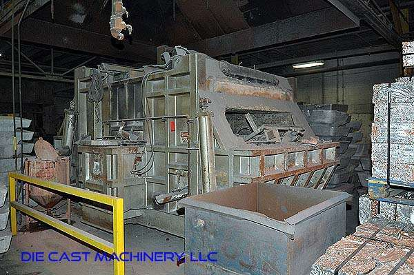 2,000 pounds per hour Reverberatory Aluminum Melting Furnace DCM 2891