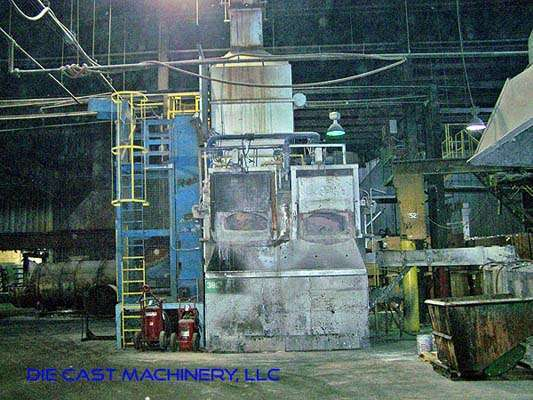 MH II-N 2000/2000 G-eg shaft type melting holding furnace, DCM 2894