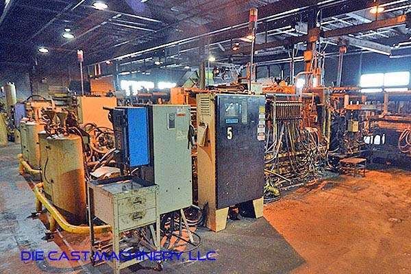Picture of Kux-Wickes Horizontal Hot Chamber Zinc (Zamak) High Pressure Die Casting Machine DCMP-2938