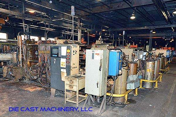 Picture of Kux-Wickes BH-600 Horizontal Hot Chamber Zinc (Zamak) High Pressure Die Casting Machine For Sale DCMP-2939