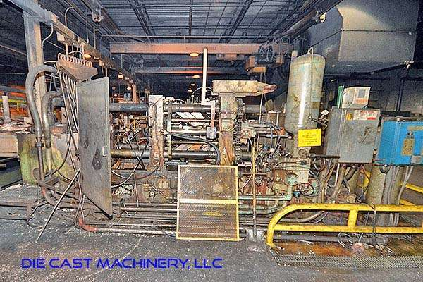 Picture of Kux-Wickes Horizontal Hot Chamber Zinc (Zamak) High Pressure Die Casting Machine DCMP-2942