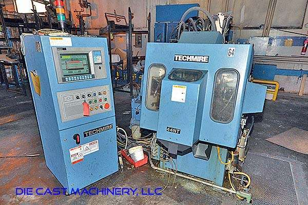 Picture of Techmire 44NT Four Slide/Multi-slide Hot Chamber Zinc (Zamak) High Pressure Die Casting Machine For Sale DCMP-2945