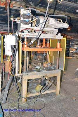 30 Ton Four Post Vertical Trim Press