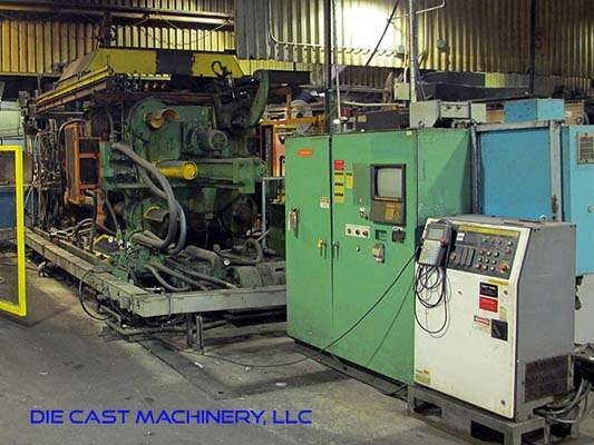 Picture of Toshiba Horizontal Cold Chamber Aluminum High Pressure Die Casting Machine DCMP-2964