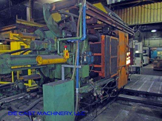 Image of Horizontal Cold Chamber Aluminum High Pressure Die Casting Machine For Sale DCM-2964