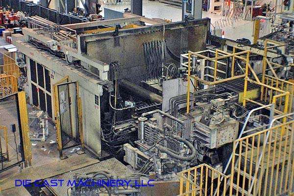 Picture of Toshiba Horizontal Cold Chamber Aluminum High Pressure Die Casting Machine DCMP-2966