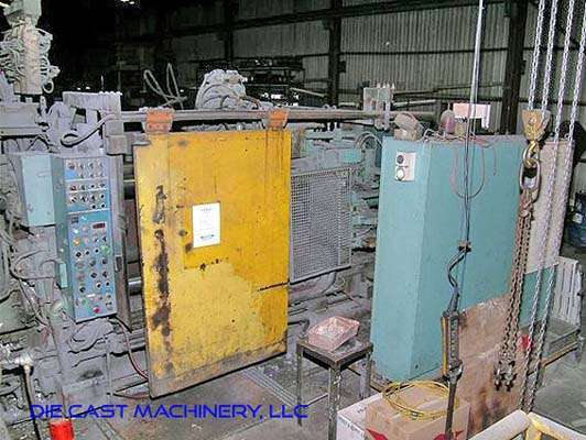 Picture of Toshiba Horizontal Cold Chamber Aluminum High Pressure Die Casting Machine DCMP-2990