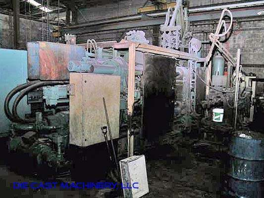 Image of Horizontal Cold Chamber Aluminum High Pressure Die Casting Machine For Sale DCM-2990
