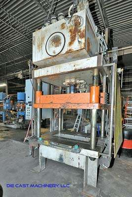 50 ton Four Post Vertical Trim Press DCM 3013