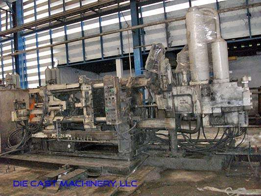 Image of Horizontal Cold Chamber Aluminum High Pressure Die Casting Machine For Sale DCM-3018