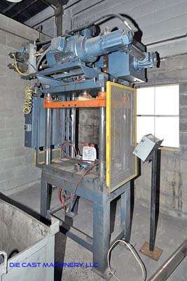 Picture of Metal Mechanics 25 Four Column (Post) Vertical Hydraulic Die Casting Trim Press For Sale DCMP-3025