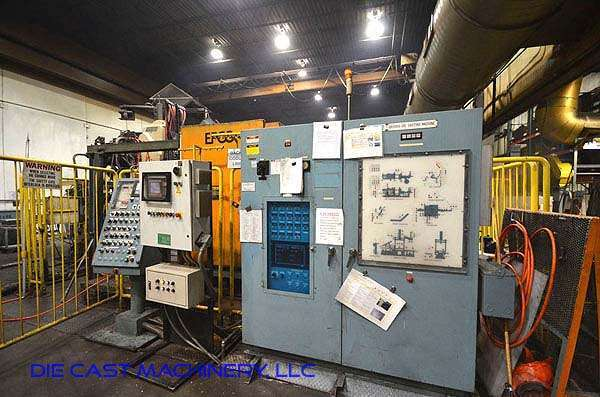 Picture of Ube UB 500 G Horizontal Cold Chamber Aluminum High Pressure Die Casting Machine For Sale DCMP-3078