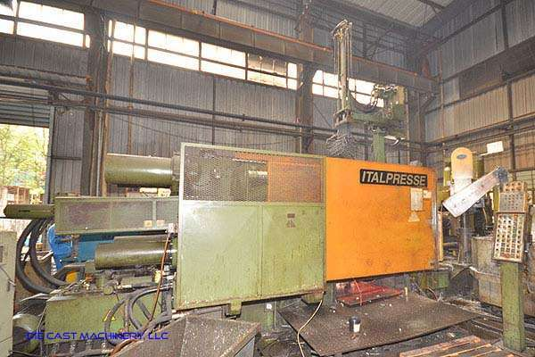 Picture of Italpresse Horizontal Cold Chamber Aluminum/Magnesium Capable High Pressure Die Casting Machine DCMP-3102