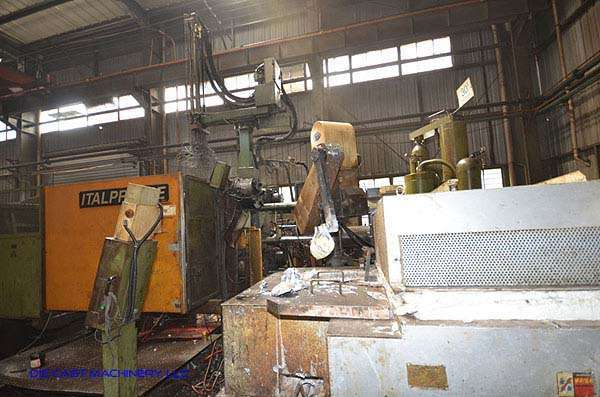 Image of Horizontal Cold Chamber Aluminum/Magnesium Capable High Pressure Die Casting Machine For Sale DCM-3102