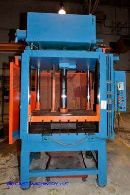 Picture of Metal Mechanics 50 Four Column (Post) Vertical Hydraulic Die Casting Trim Press For Sale DCMP-3137