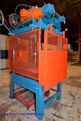 Image of Four Column (Post) Vertical Hydraulic Die Casting Trim Press For Sale DCM-3137