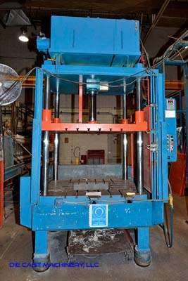 Picture of Metal Mechanics 50 Four Column (Post) Vertical Hydraulic Die Casting Trim Press For Sale DCMP-3138