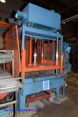 Picture of Metal Mechanics Four Column (Post) Vertical Hydraulic Die Casting Trim Press DCMP-3139
