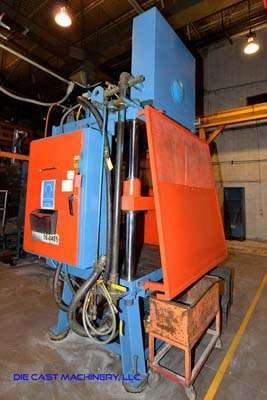 Used CMI 99208-2 50 Ton Vertical Die Cast Trimming Press For