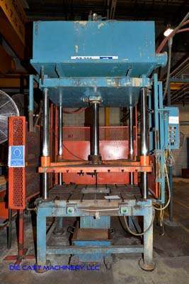 Picture of Metal Mechanics 50 Four Column (Post) Vertical Hydraulic Die Casting Trim Press For Sale DCMP-3141