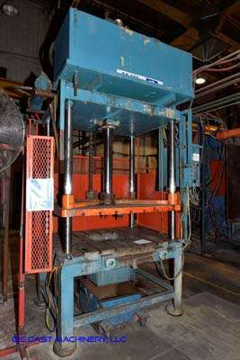 Picture of Metal Mechanics Four Column (Post) Vertical Hydraulic Die Casting Trim Press DCMP-3141