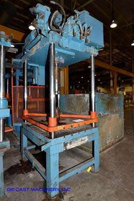 Picture of Metal Mechanics 50 Four Column (Post) Vertical Hydraulic Die Casting Trim Press For Sale DCMP-3144