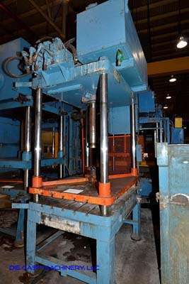 Picture of Metal Mechanics Four Column (Post) Vertical Hydraulic Die Casting Trim Press DCMP-3144