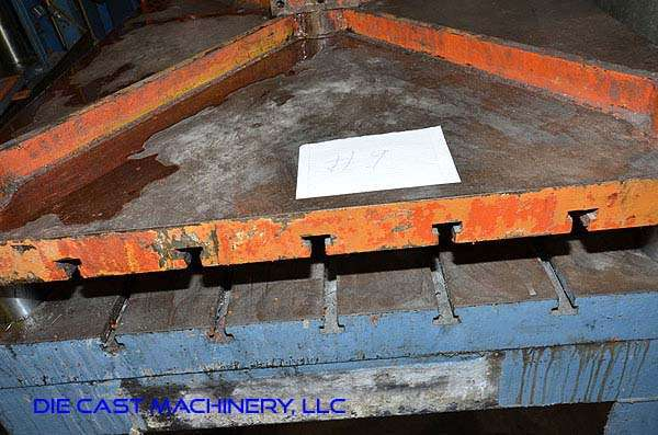 Image of Four Column (Post) Vertical Hydraulic Die Casting Trim Press For Sale DCM-3144