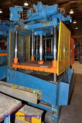 Picture of Metal Mechanics 50 Four Column (Post) Vertical Hydraulic Die Casting Trim Press For Sale DCMP-3146