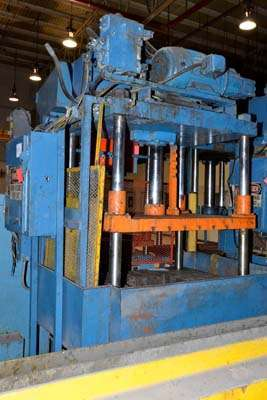 Picture of Metal Mechanics Four Column (Post) Vertical Hydraulic Die Casting Trim Press DCMP-3147