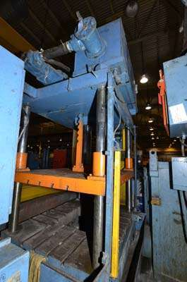 Image of Four Column (Post) Vertical Hydraulic Die Casting Trim Press For Sale DCM-3147