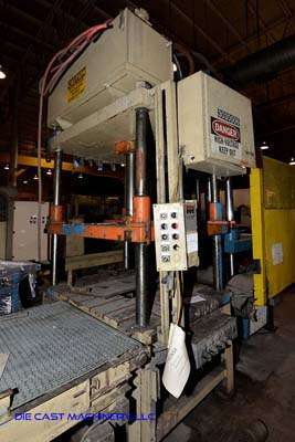 Picture of Metal Mechanics 50 Four Column (Post) Vertical Hydraulic Die Casting Trim Press For Sale DCMP-3149