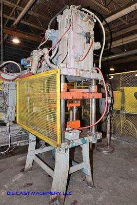 Image of Four Column (Post) Vertical Hydraulic Die Casting Trim Press For Sale DCM-3160