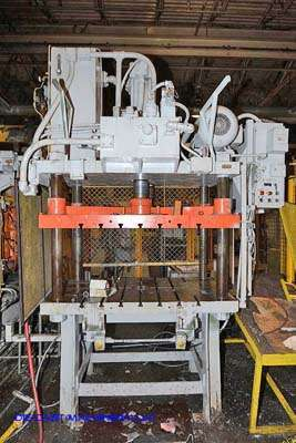 Image of Four Column (Post) Vertical Hydraulic Die Casting Trim Press For Sale DCM-3177
