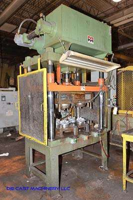 Picture of Metal Mechanics 50-T Four Column (Post) Vertical Hydraulic Die Casting Trim Press For Sale DCMP-3182