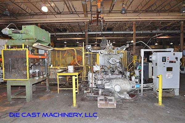 Picture of HPM II-800-A Horizontal Cold Chamber Aluminum High Pressure Die Casting Machine For Sale DCMP-3184