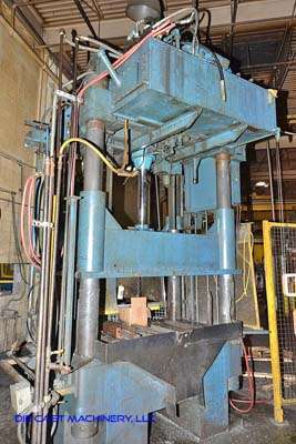 Picture of Dake  Four Column (Post) Vertical Hydraulic Die Casting Trim Press For Sale DCMP-3193
