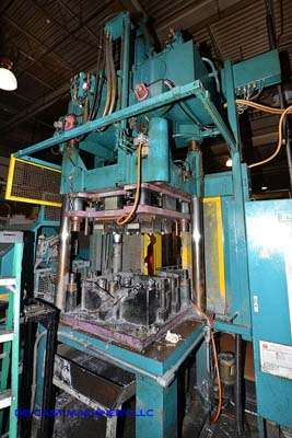 Picture of Reis Trim Press Three Column (Post) Vertical Hydraulic Die Casting Trim Press DCMP-3196