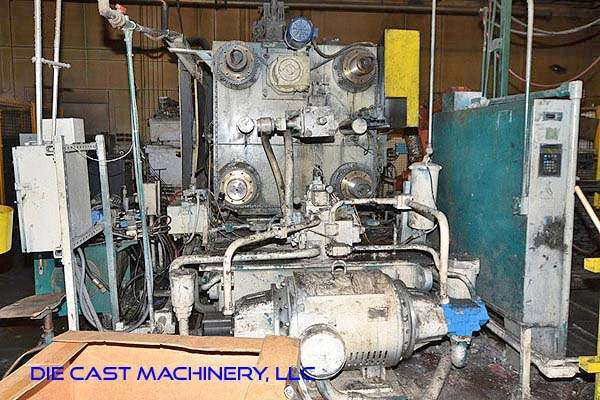 Picture of Birch BMC-1000-A Horizontal Cold Chamber Aluminum High Pressure Die Casting Machine For Sale DCMP-3202