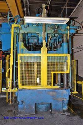 Picture of Dake  Four Column (Post) Vertical Hydraulic Die Casting Trim Press For Sale DCMP-3225