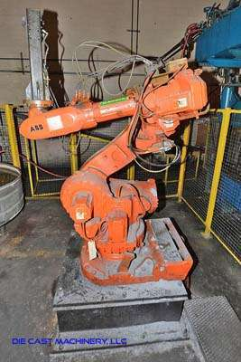 Picture of ABB IRB 7700 Six Axis Foundry Rated Industrial Robot with Extractor Package/Gripper for Extracting Die Castings For Sale DCMP-3229