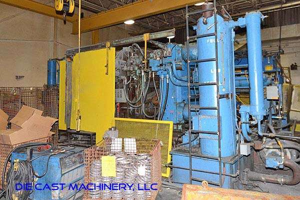 Picture of Prince Horizontal Cold Chamber Aluminum High Pressure Die Casting Machine DCMP-3231