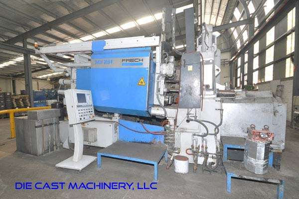 Picture of Frech DAW 315 F RC Horizontal Hot Chamber Zinc (Zamak) High Pressure Die Casting Machine For Sale DCMP-3296