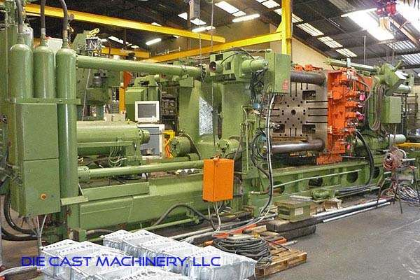 Picture of Buhler SC 10 120 Horizontal Cold Chamber Aluminum/Magnesium Capable High Pressure Die Casting Machine For Sale DCMP-3316