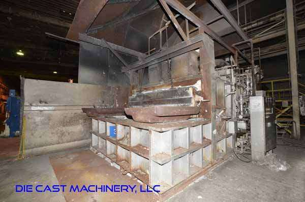 Picture of Lindberg MPH Reverberatory Type Wet Bath Stationary Aluminum Melting and Holding Furnace DCMP-3325