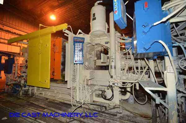 Picture of Prince Horizontal Cold Chamber Aluminum High Pressure Die Casting Machine DCMP-3334