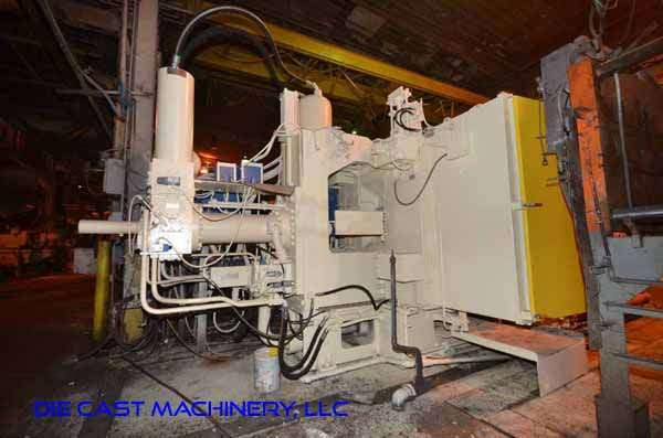 Image of Horizontal Cold Chamber Aluminum High Pressure Die Casting Machine For Sale DCM-3334