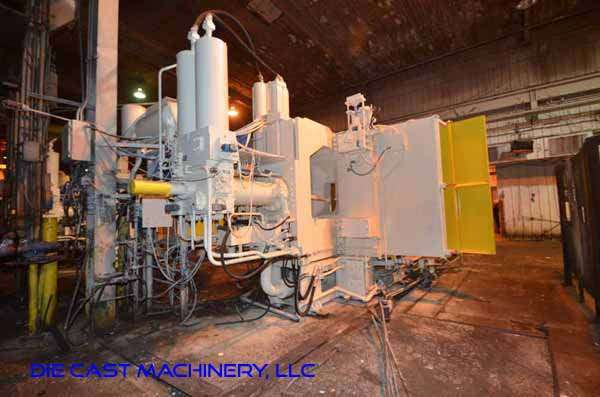 Image of Horizontal Cold Chamber Aluminum High Pressure Die Casting Machine For Sale DCM-3336