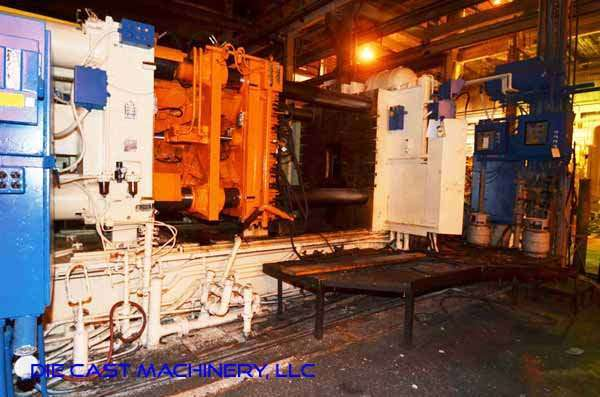 Picture of Prince 940 CCA Horizontal Cold Chamber Aluminum High Pressure Die Casting Machine For Sale DCMP-3347